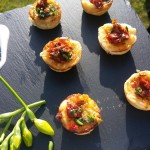 Canapes At A Corporate Event