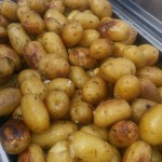 New Potatoes With Our Herb Butter