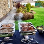 Outside Catering Set Up