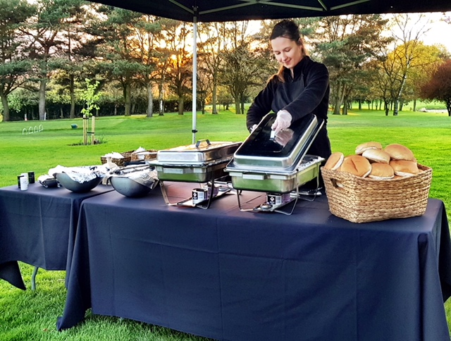 Outside Catering with Server