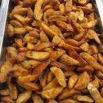 Crispy, Spiced Potato Wedges